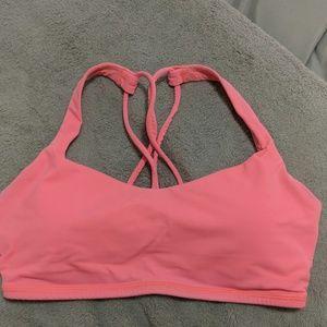 Pink/Coral Lululemon Sports Bra